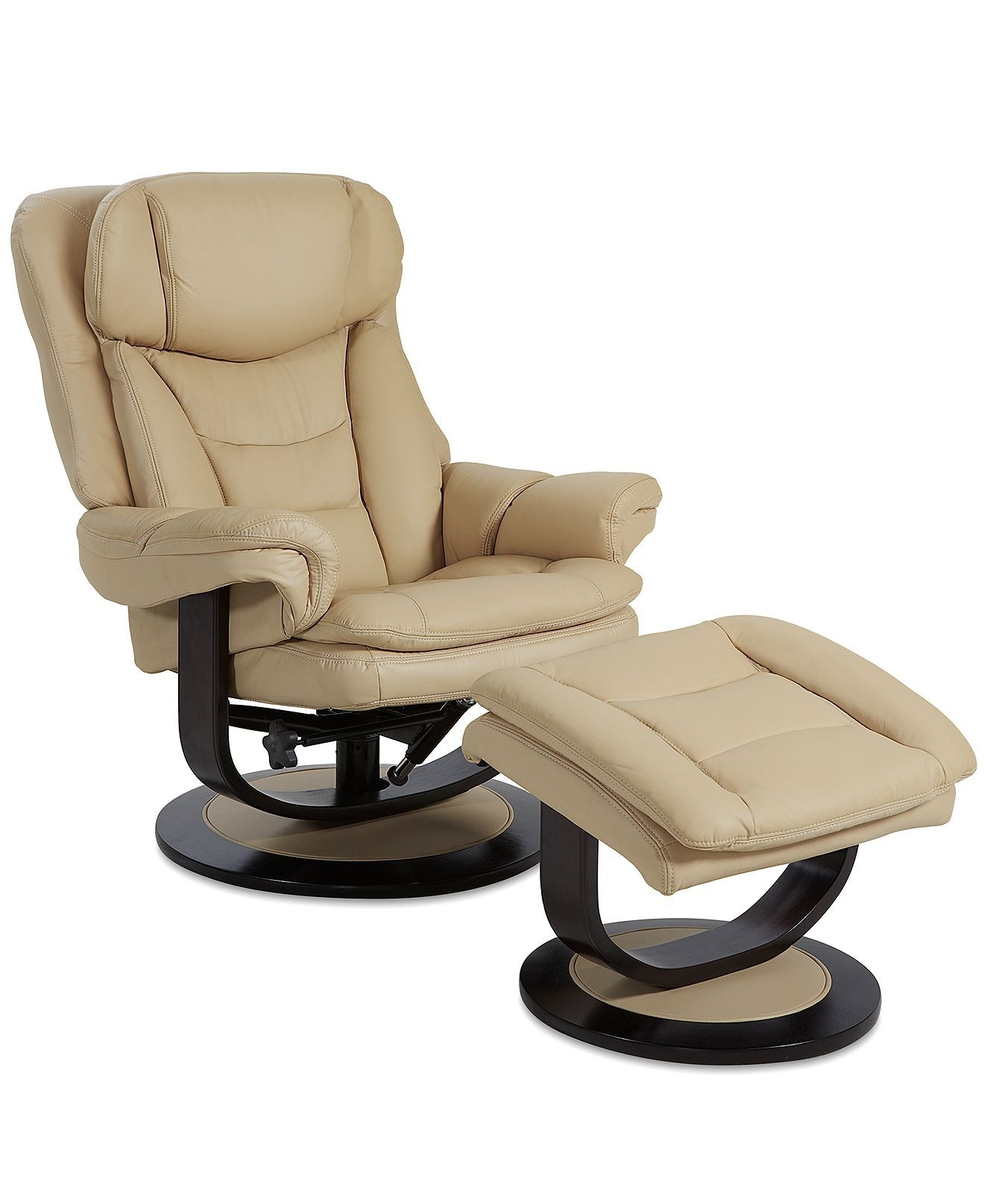 reclining chair with ottoman leather luxury dining chairs recliner ideas on foter 1