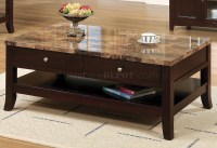 Granite Top Coffee Table - Foter