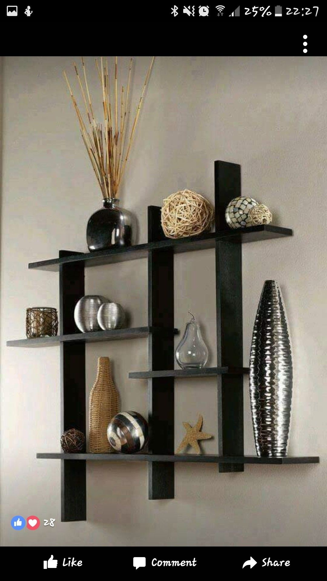 shelf ideas for living room how to paint your wall shelves on foter