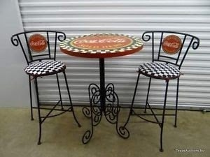 Wrought Iron Pub Tables