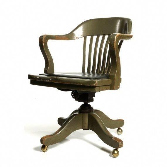office chair not revolving swivel tk maxx wooden ideas on foter antique deco 2