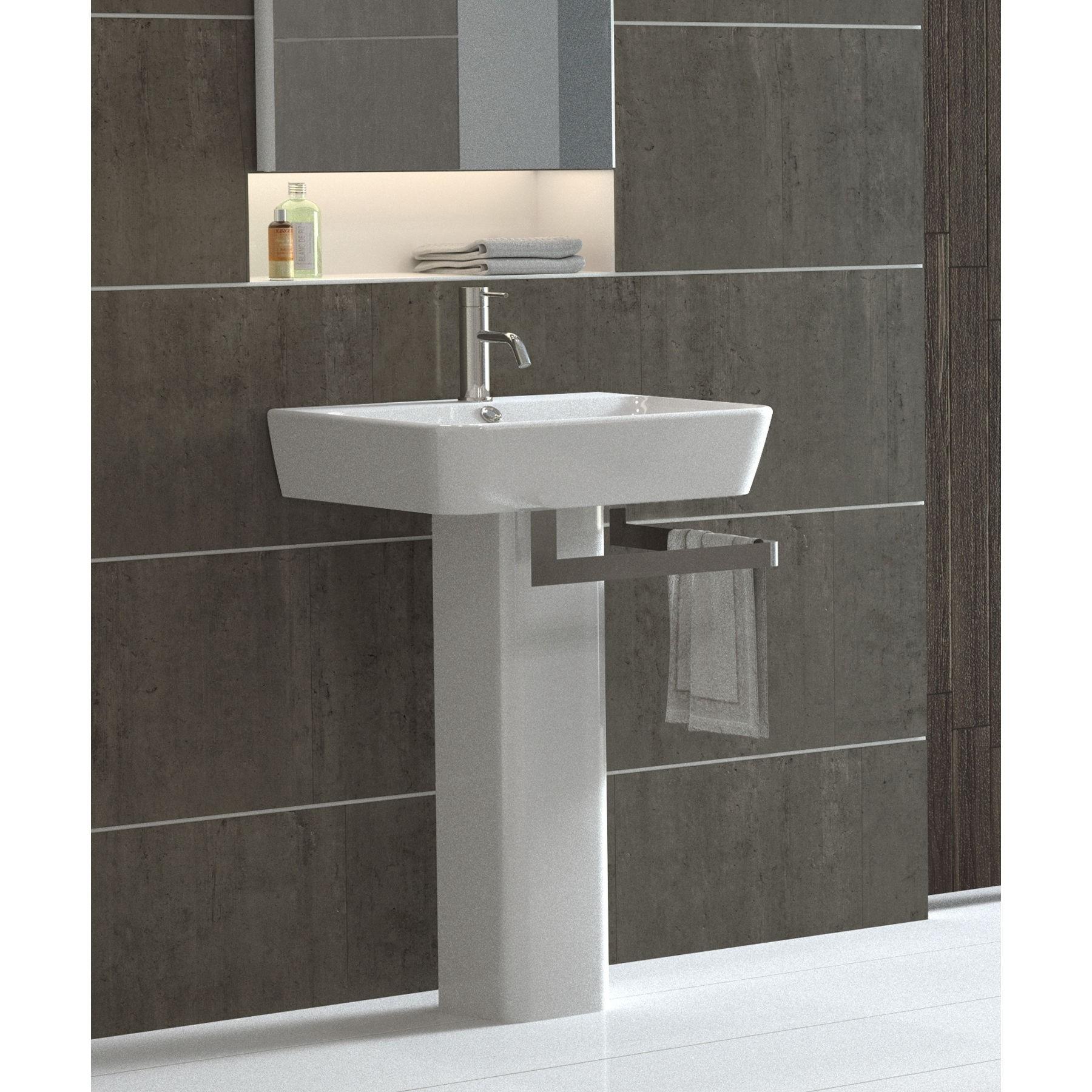 modern pedestal sinks for small