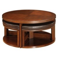 Coffee Table With Pull Out Ottomans - Foter