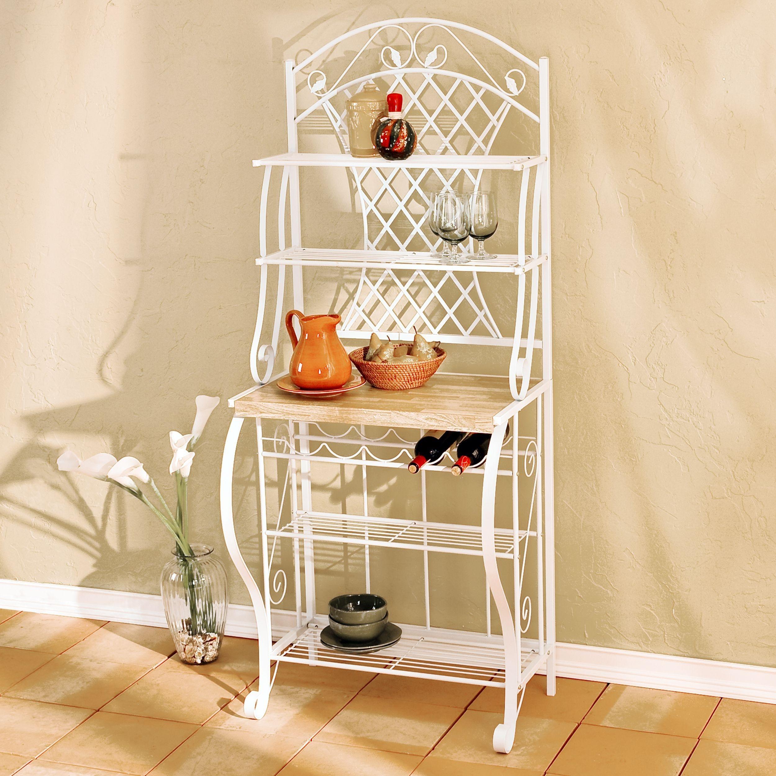 bakers rack shelves ideas on foter