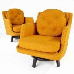Swivel Upholstered Chairs Folding Chair Slipcovers Living Room Ideas On Foter Club Rockers