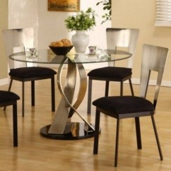 Kitchen Table Sets Drop Leaf Island Glass Top Round Ideas On Foter 2