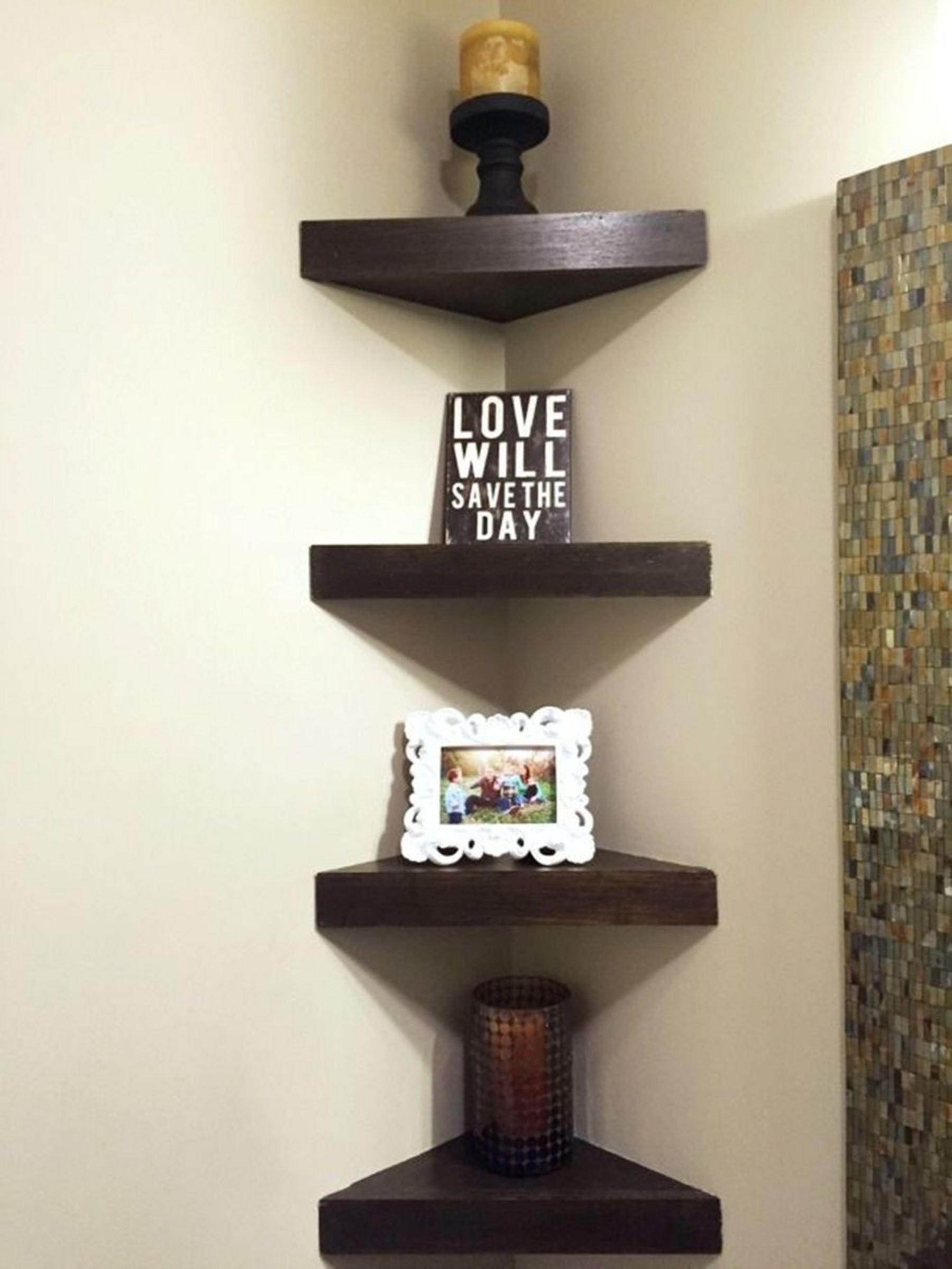 Wooden Corner Shelves  Ideas on Foter