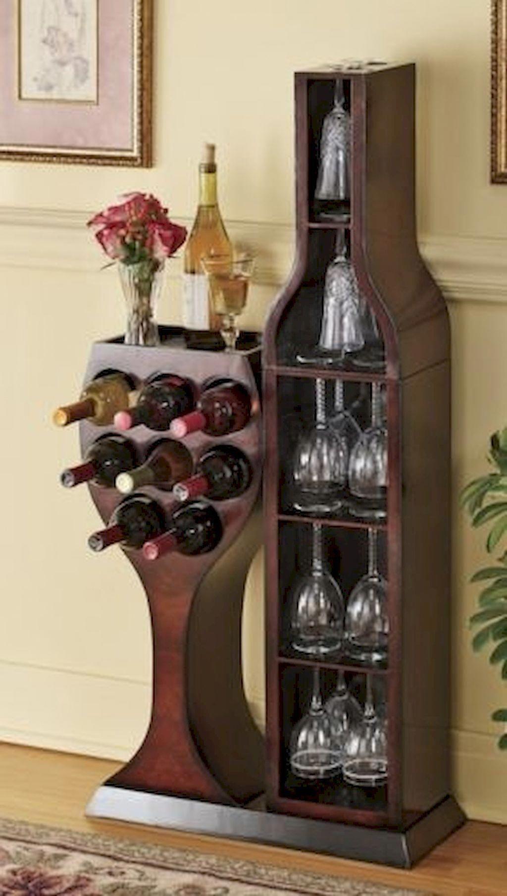 corner wine glass rack ideas on foter