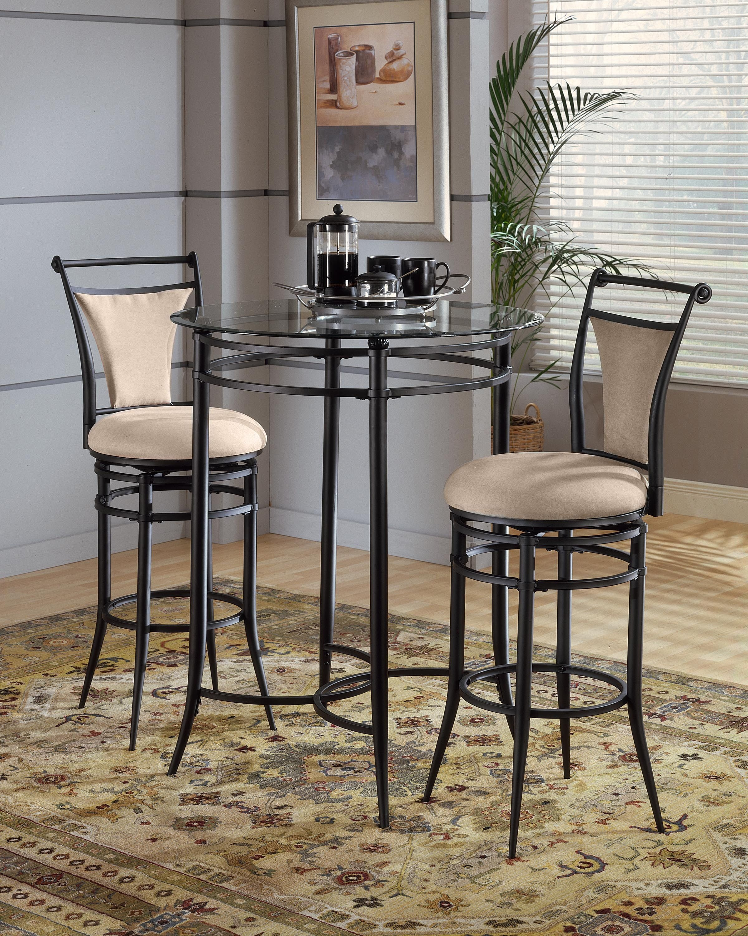 patio chairs with footrests white wood table tall bistro and - foter