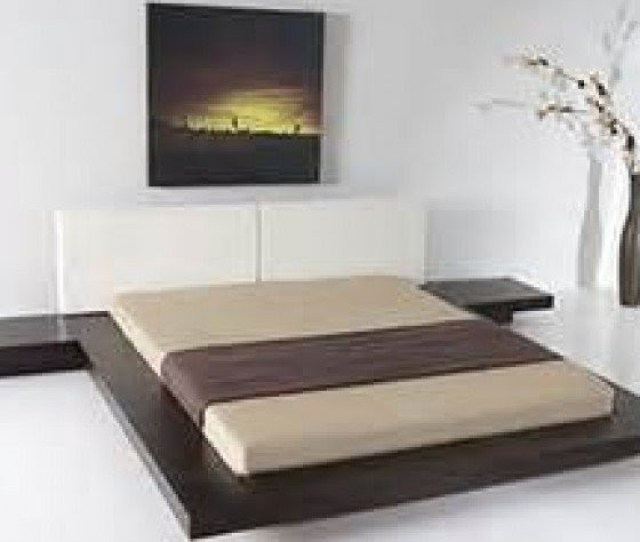 Worth Japanese Style Platform Bed