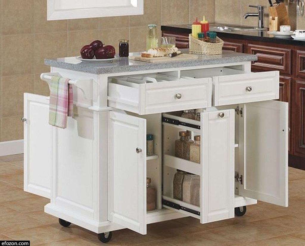 granite top kitchen cart custom kitchens island ideas on foter 25