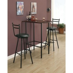 High Table And Chairs For Kitchen Bedroom Desk Chair Top Pub Sets Ideas On Foter Bar Bistro Small Dining Room