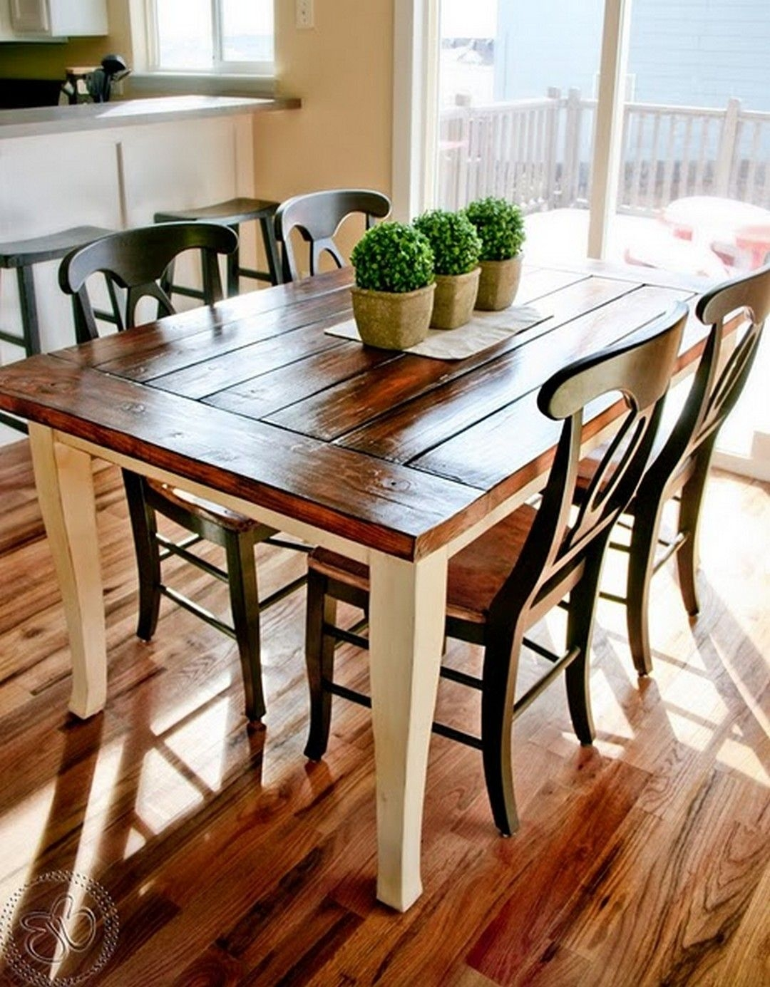 farmhouse kitchen tables sprouted book style table and chairs ideas on foter