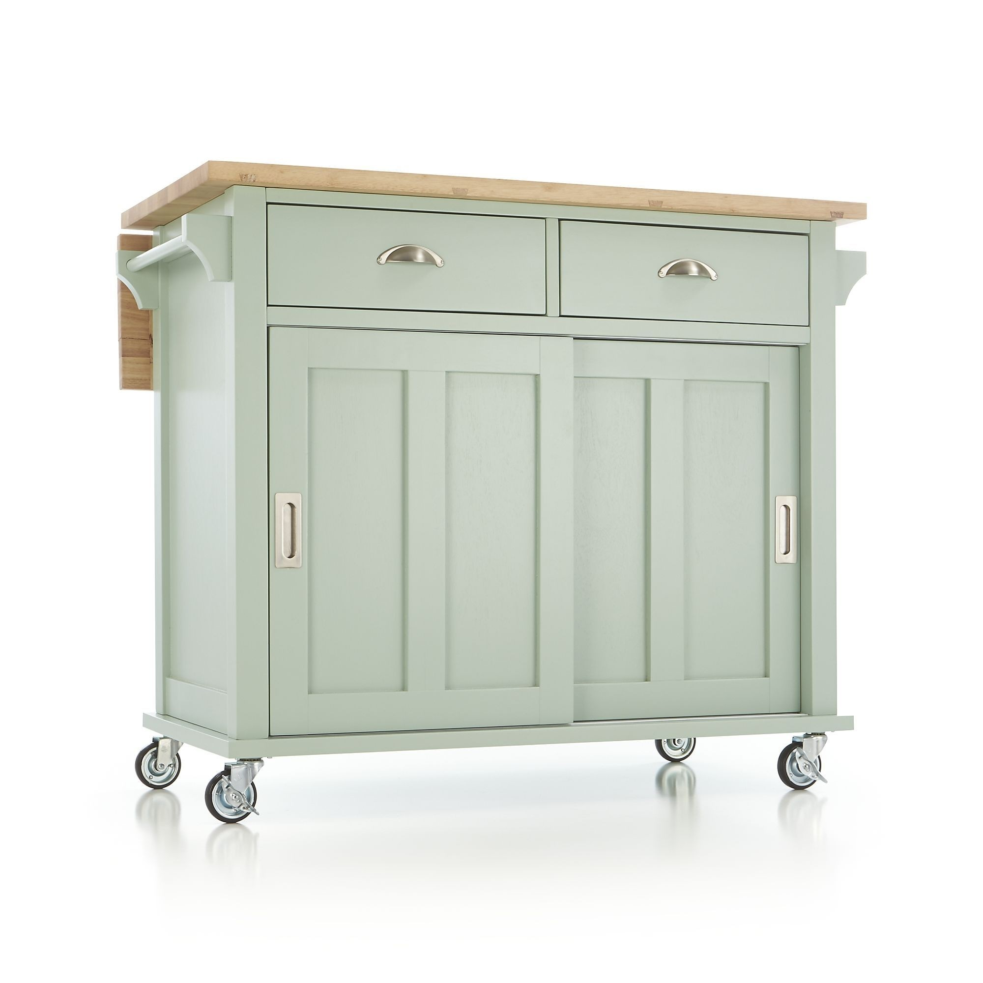 wheeled kitchen island roll towels islands on casters ideas foter wheels with seating