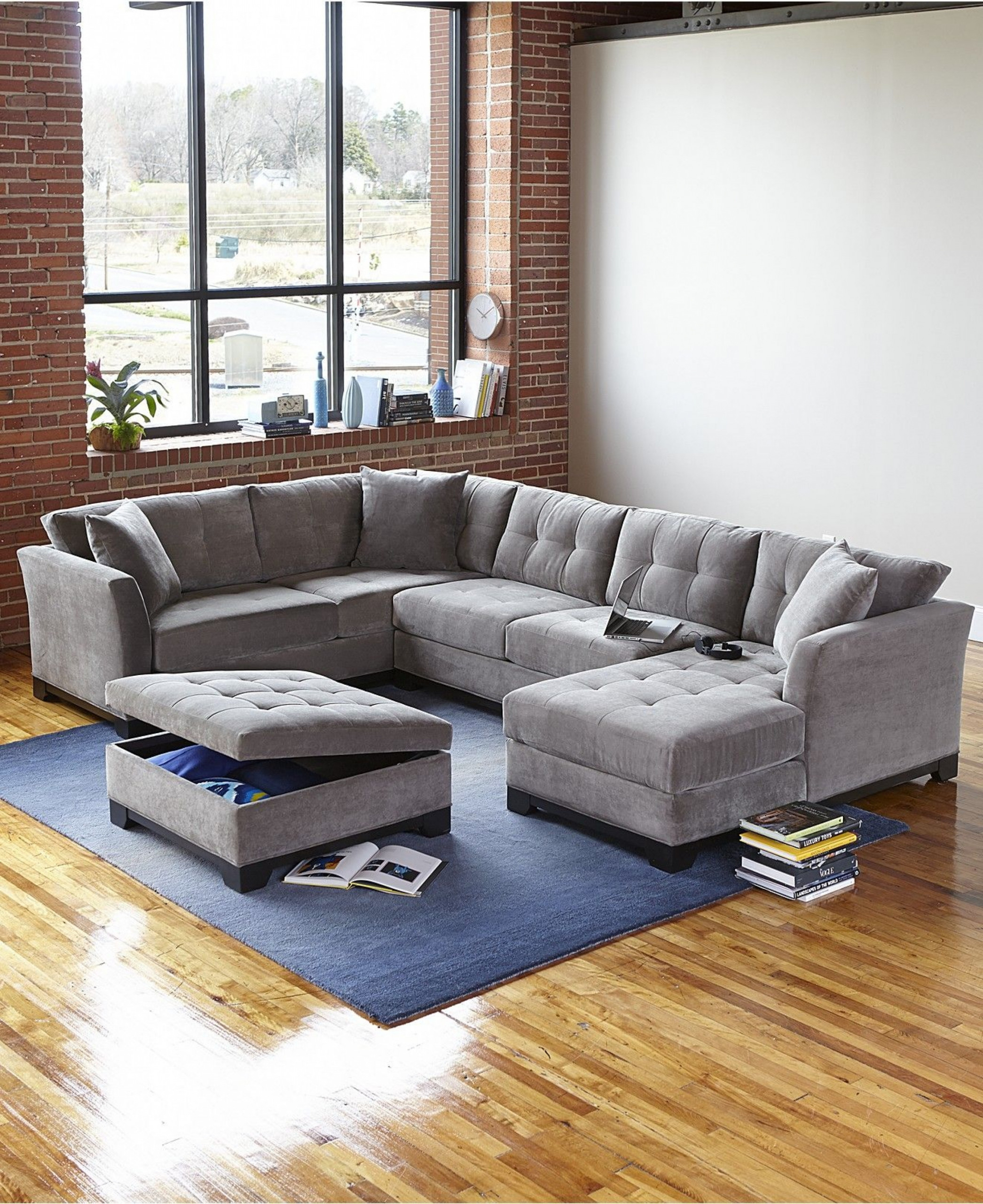 microfiber sofa with chaise ideas on