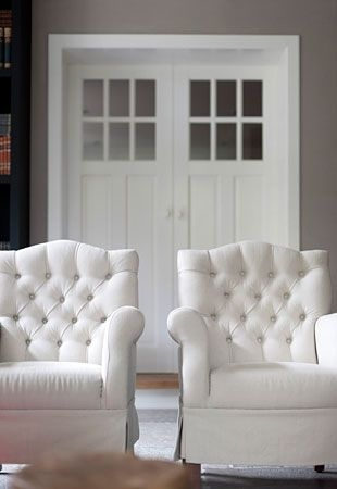 white tufted chair crate and barrel vintner arm chairs ideas on foter 2