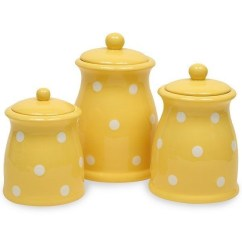 Kitchen Pottery Canisters Drawer Knobs Ceramic Sets Ideas On Foter