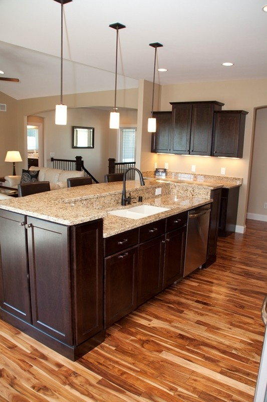 granite top kitchen island breakfast bar lowes pantry with and ideas on foter counter tops
