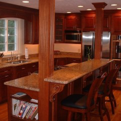 Granite Top Kitchen Island Breakfast Bar Diy Design With And Ideas On Foter