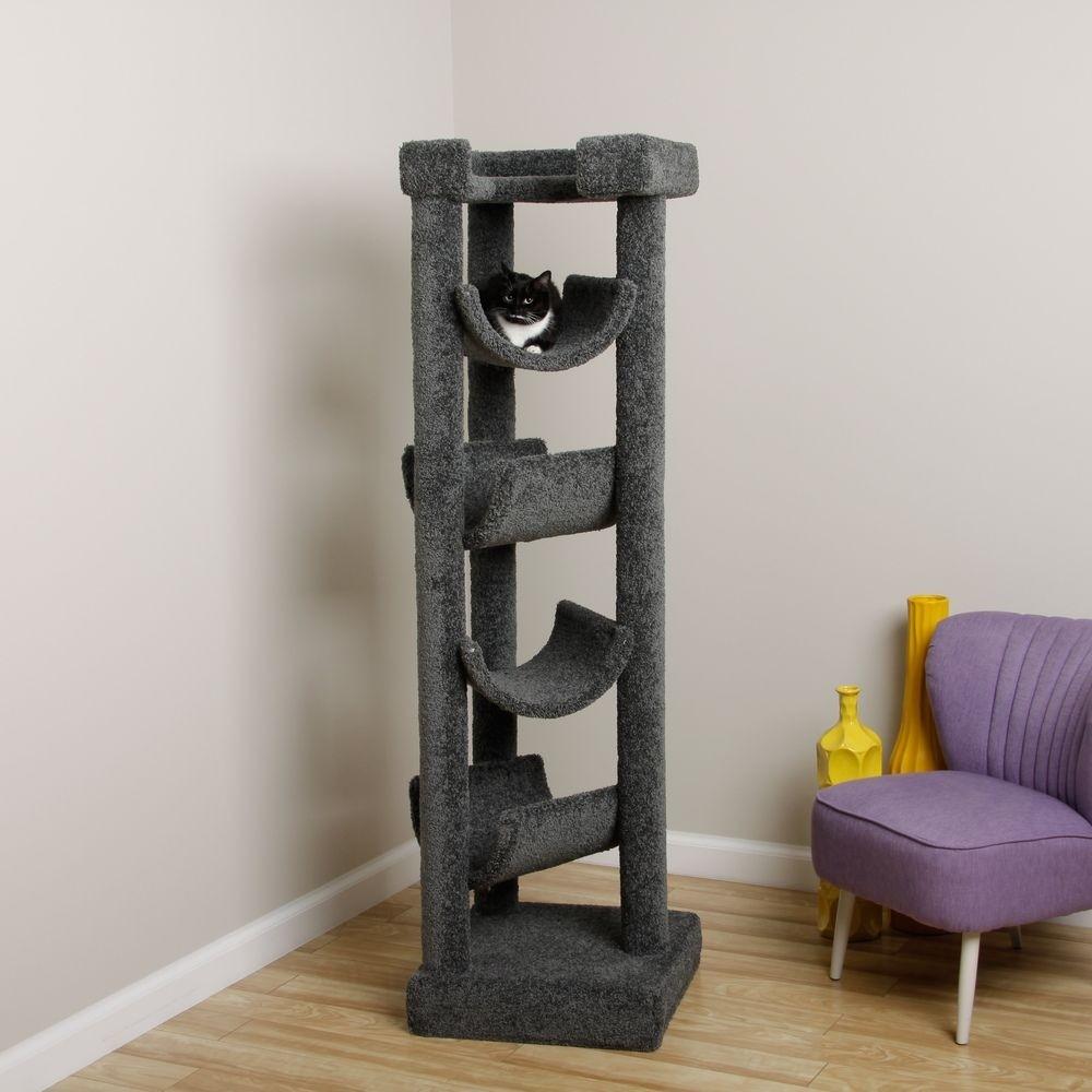 solid wood cat furniture