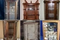 Rustic Curio Cabinets - Foter