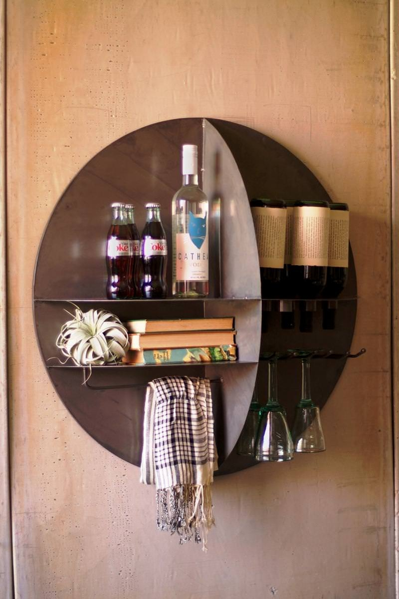 Wall Mount Stemware Rack
