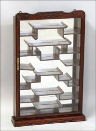 Wall Mount Curio Cabinet - Foter