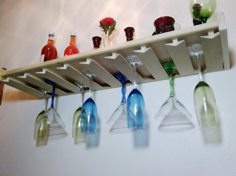 wall mounted stemware rack ideas on foter