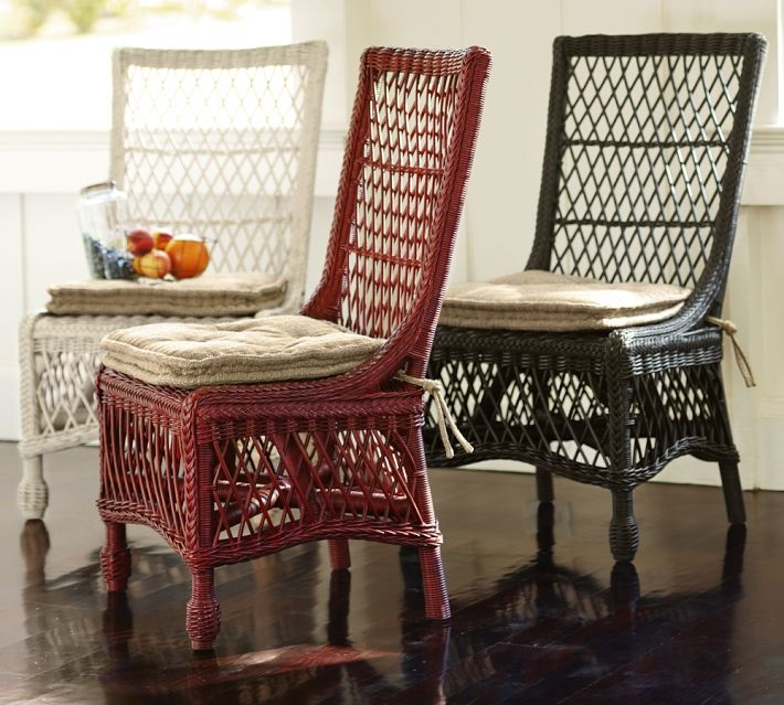 comfortable wicker chairs heated stadium with backs indoor dining ideas on foter delaney woven rattan chair 6