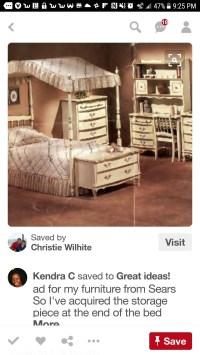 Girls Canopy Bedroom Set - Foter