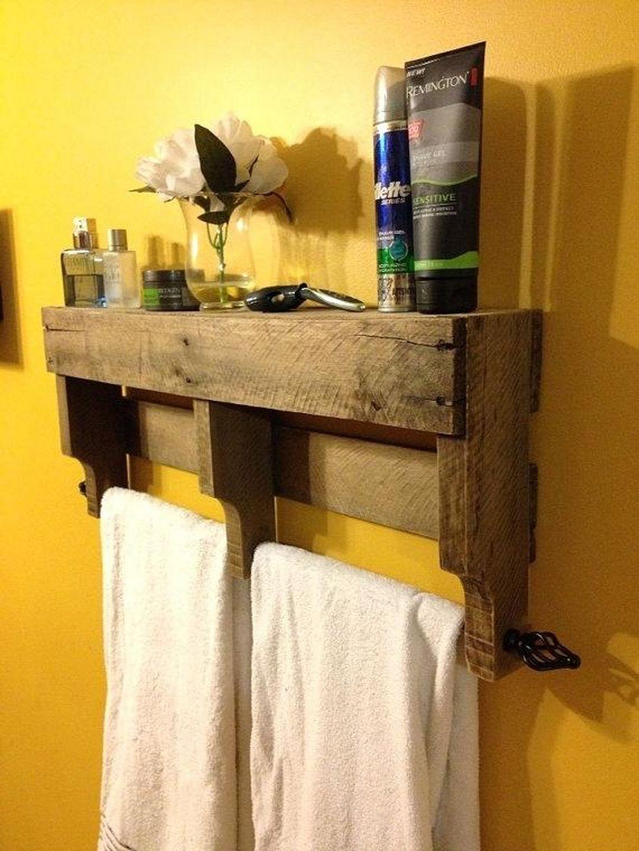 wood towel bars for bathrooms ideas