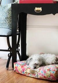 Floral Dog Bed - Foter