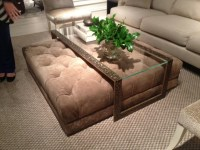 Coffee Table With Ottomans Underneath - Foter