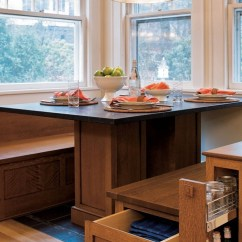 Kitchen Table Storage Craftsman Cabinets With Underneath Ideas On Foter 6