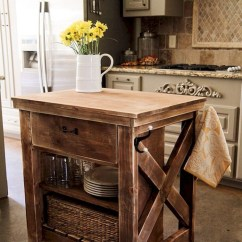Kitchen Cart Table Hood Rustic Microwave Ideas On Foter