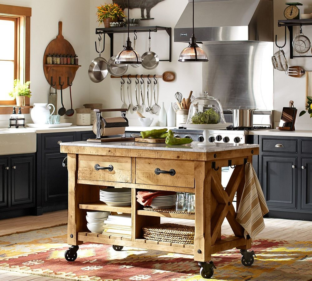 kitchen cart with drawers hanging rack carts ideas on foter small
