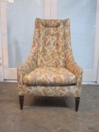 Vintage High Back Chair - Foter