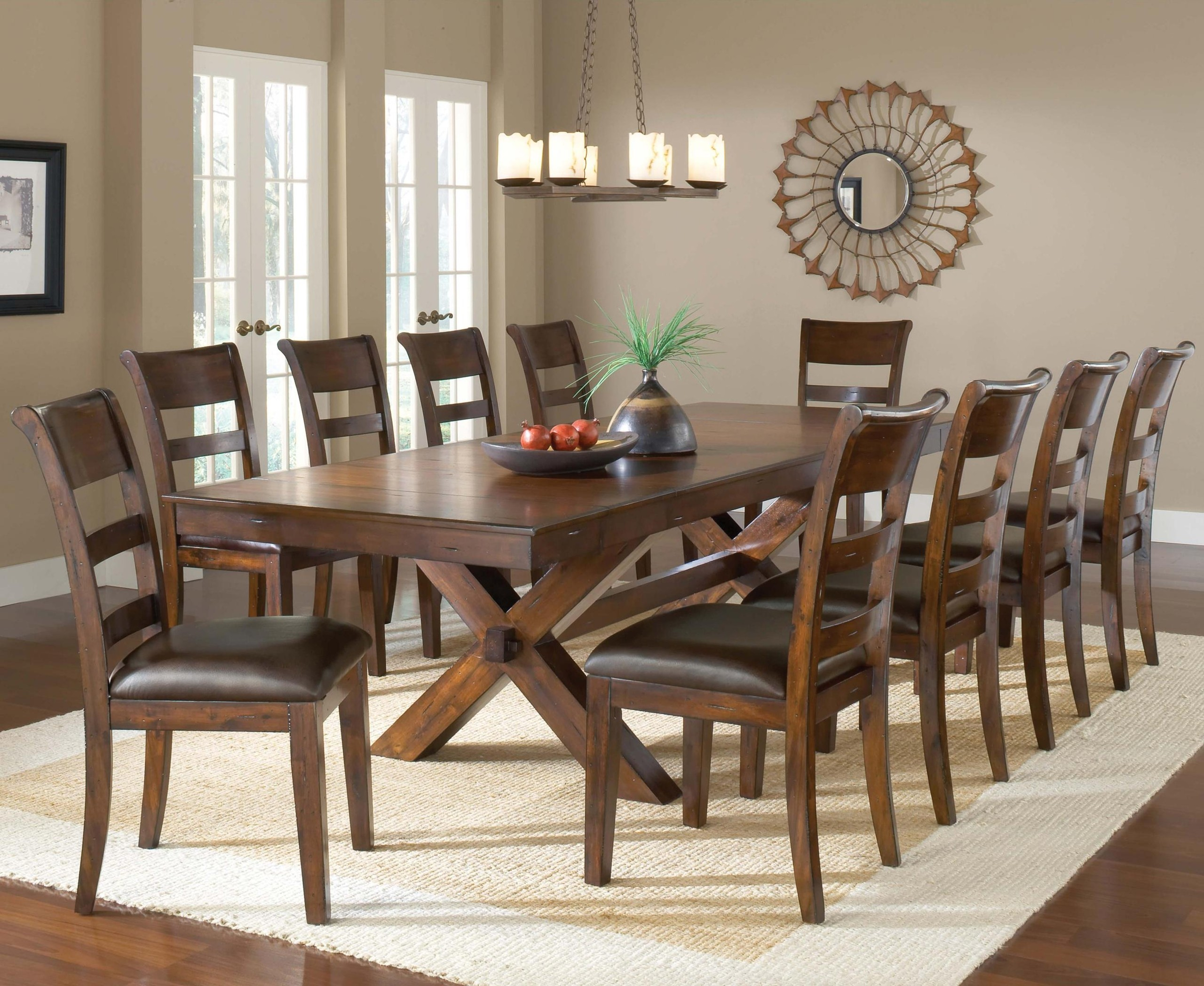 large kitchen table island electrical outlet dining tables to seat 10 ideas on foter seater oval