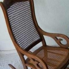 Vintage Wicker Rocking Chair Baby Bouncer Age Range Antique Chairs Ideas On Foter