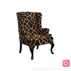 Giraffe Print Chair Macrame Hammock Animal Arm Ideas On Foter Bailey Street