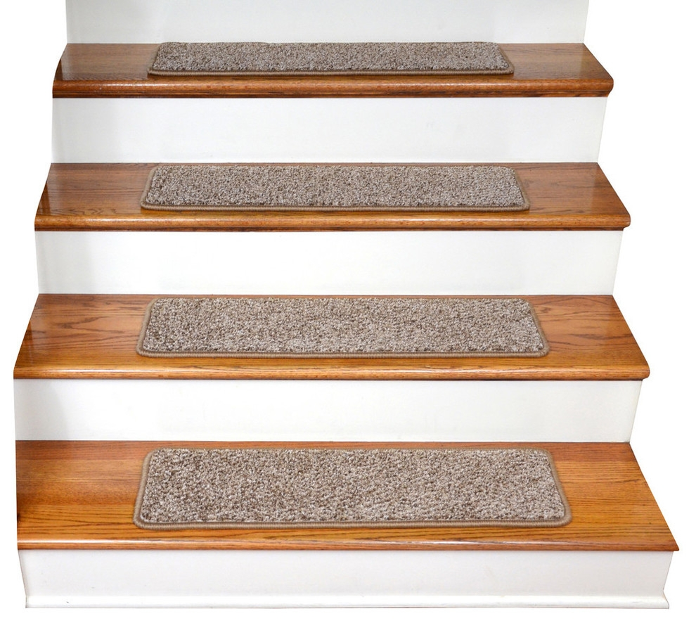 Stair Treads Carpet Non Slip Ideas On Foter | Dean Premium Carpet Stair Treads | Keshan Chocolate | Classic Keshan | Gripper Tape | Friendly Diy | Nylon Carpet
