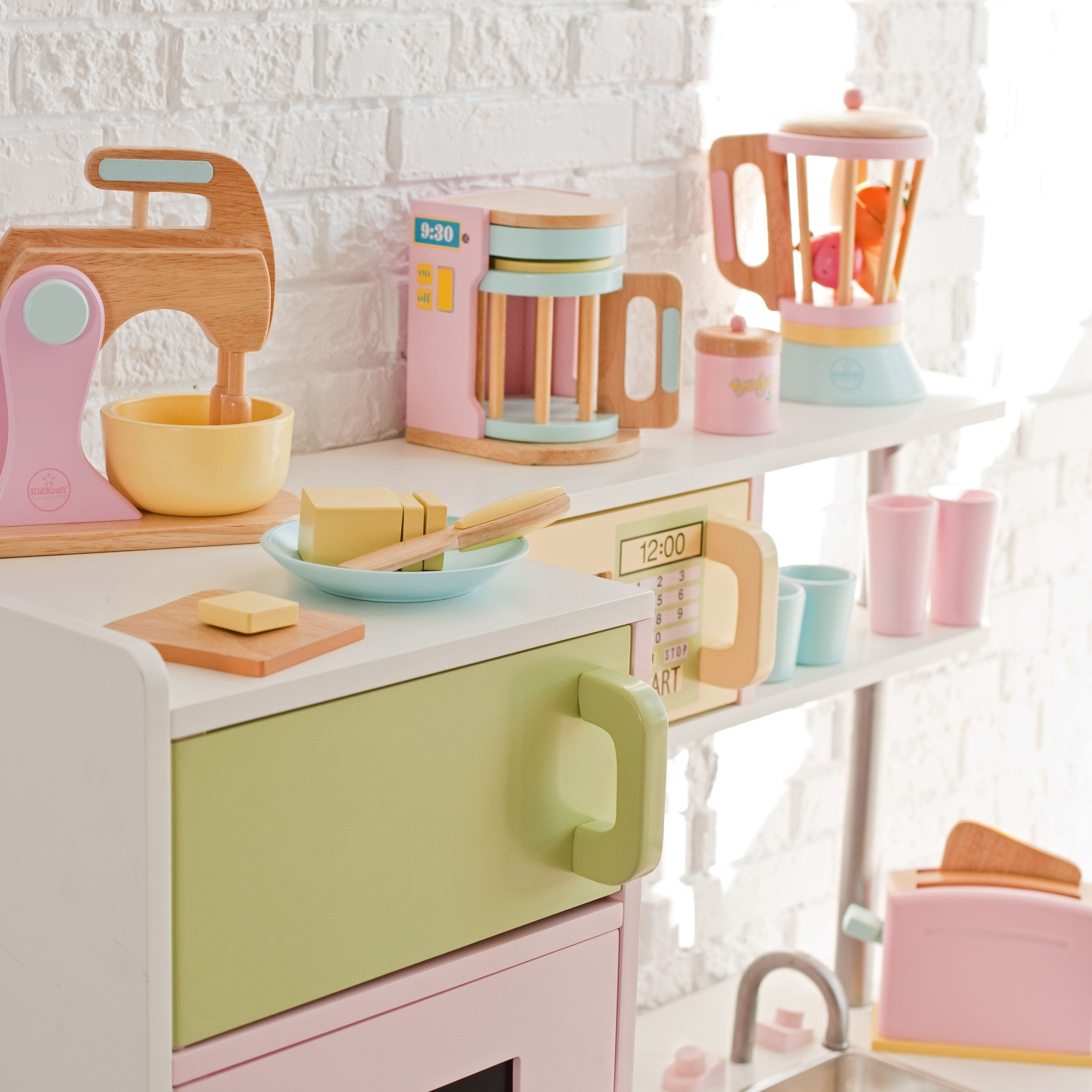 kids play kitchen accessories cabinets tampa wooden ideas on foter