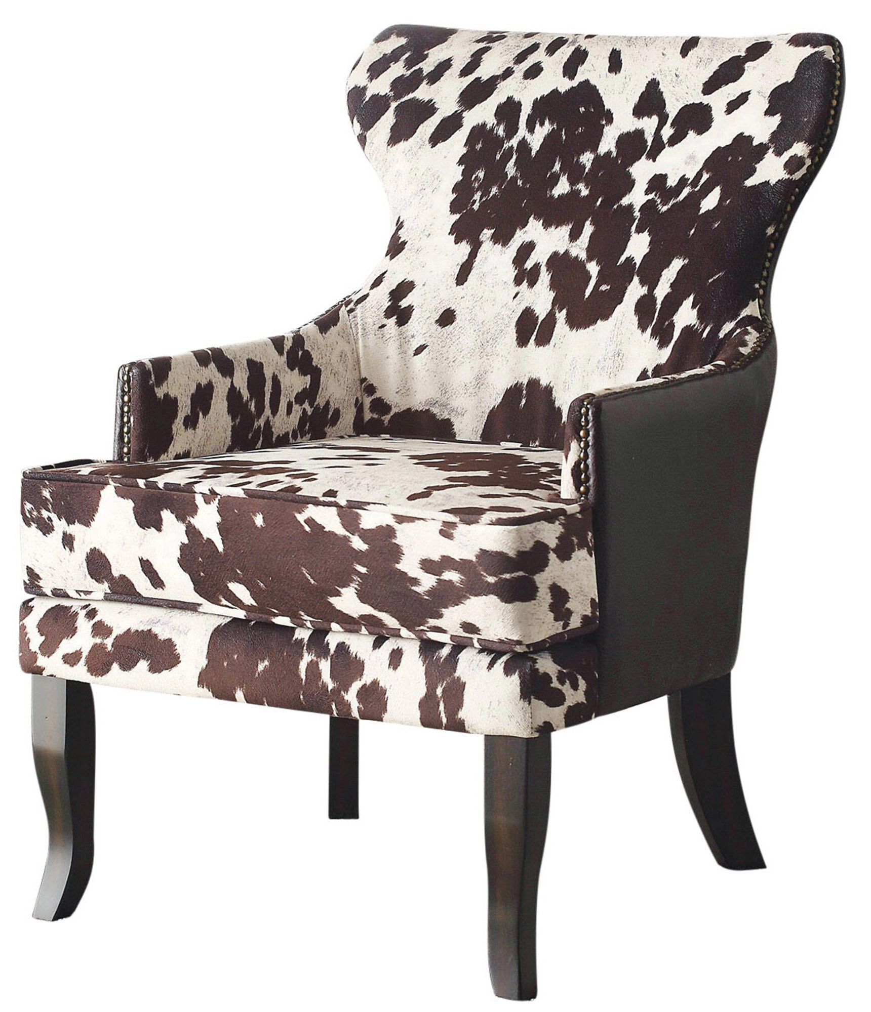 cow print chair pottery barn chairs baby animal arm ideas on foter leopard office