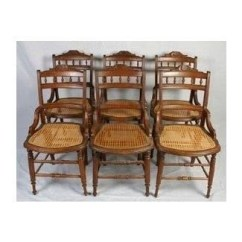 Where Can I Buy Cane For Chairs Elderly Potty Chair Antique Ideas On Foter Six Matching Victorian Walnut Bottom