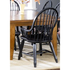 High Seat Chairs For Elderly Lay Flat Recliner Back Windsor Dining Arm Chair - Foter