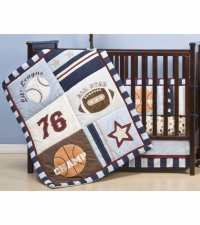 Baby Boy Sports Crib Bedding Sets