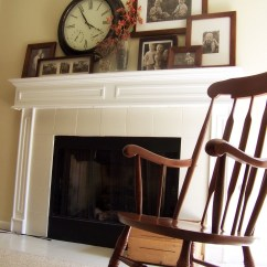 Living Room Clocks Next Shelves Idea Mantel Modern Ideas On Foter 26