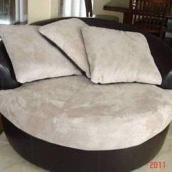 Big Round Chairs Ergonomic Chair No Wheels Oversized Swivel Ideas On Foter