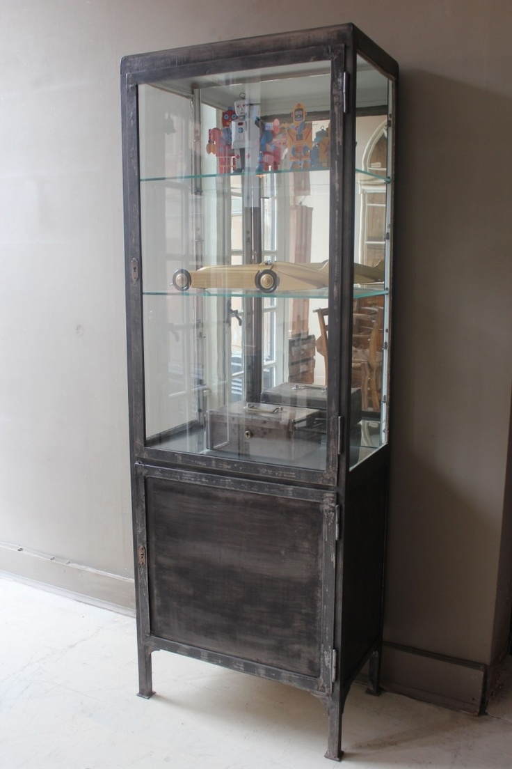 Glass Metal Curio Cabinets  Foter