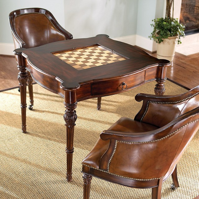 chess table and chairs hickory chair leather sofa tables ideas on foter 1